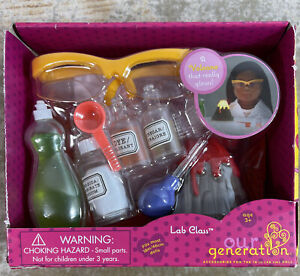 """Our Generation Lab Class Set For 18"""" Doll American Girl"""
