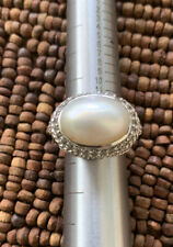 JUDITH RIPKA Mabe Pearl sterling ring 6