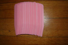 50 4 INCH AFRICAN VIOLET PLANT TAGS LABELS~PINK