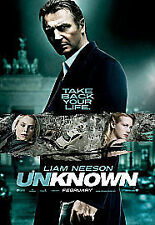 Unknown Liam Neeson DVD 2011 Very Good Condition