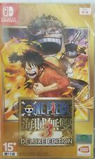 One Piece: Kaizoku Musou 3 Deluxe Edition (English/Chi Ver) Nintendo Switch NS