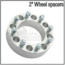 """FORD SUPERDUTY EXCURSION 8X170 WHEEL SPACER 2"""" INCH (50MM)  8 LUG ADAPTER"""
