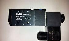 """Pneumatik Ventil 5/2  IG1/4"""" 12 Volt ET4V210-08-12VDC-BLCH"""