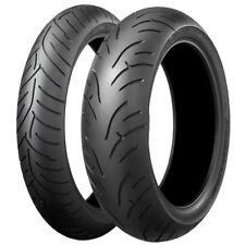 Road Tyre Package - Bridgestone BT023 front & rear tyres 120/70ZR17 & 190/50ZR17