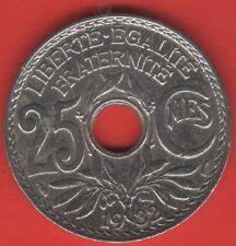 PIECE 25 centimes Lindauer 1932   -c25-32-