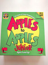 Apples to Apples Junior from Out of the Box Toy of the Year Mensa Select 2007