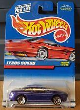 Hotwheels 1997 - Lexus SC400 [PURPLE] LACE WHEELS VARIATION.  COMBINED POSTAGE