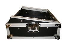 """Mixercase 8HE 19"""" Butterfly Rack Flightcase Mischpult Koffer DJ Case *Retoure*"""