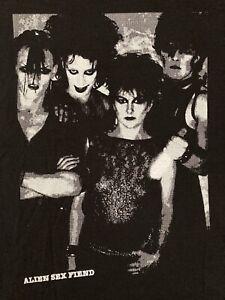 Alien Sex Fiend T Shirt XL Siouxsie Bauhaus Sisters Of Mercy Christian Death