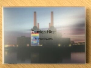 Damien Hirst 12 Postcard Set. Limited Edition SOLD OUT Numbered Ed of 1689