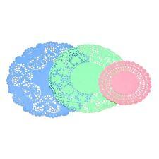 30 pcs Elegant Doilies Set Decorate your table/Beautiful Design Pink/Green/Blue