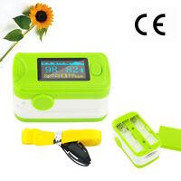 Finger Pulse Oximeter Oxygen Meter SPO2 &PR Monitor Oxymeter CE&FDA Safe