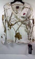 SCENTBLOCKER Ladies Snow Camo, L/S T-shirt Medium msrp $19.99