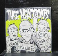 "Thee Headcoats - Hatred, Ridicule & Contempt Mint- 7"" Green Vinyl 45 SFTRI 138"