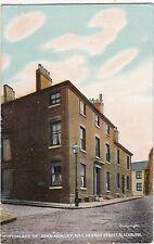 Birthplace Of John Morley, No 1 Heaton Street, BLACKBURN, Lancashire