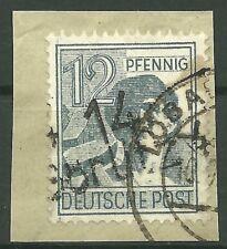SBZ Bezirkshandstempel MiNr. 170 II aus 14 Görlitz 4 Briefstück gepr. Dr. Kalb
