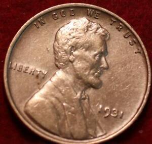 1931 Philadelphia Mint Copper Lincoln Wheat Cent