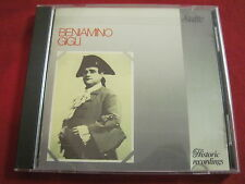 BENIAMINO GIGLI - HISTORIC RECORDINGS - SUITE (CD 1987 JAPAN) RARE OPERA