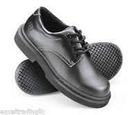 SFC Shoes for Crews Jane II Black Leather Women's Shoes 3582 Size 4 / 33 $64 NEW