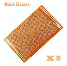 5pcs 9x15cm DIY PCB Prototyping Printed Circuit Board Prototype Stripboard