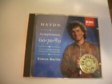 SYMPHONIE 60 70 90 - HAYDN CD CITY OF BIRMINGHAM SYMPHONY ORCHESTRA SIMON RATTLE