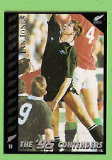 1995 NEW ZEALAND  ALL BLACKS RUGBY UNION CARD  #16  IAN  JONES