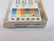 SECO TNMG 160404-MF1, TNMP331-MF1 TS2000 10pcs