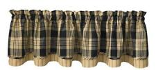 French Country New Curtain Ruffled MILLBURY LAYER LINED Kitchen Window VALANCE