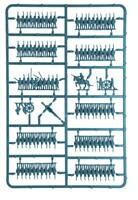 Warlord BlackPowder Epic ACW Blue 1 sprue 12 stands w/ bases Longstreet