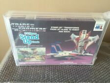 WARREN 3D JIGSAW STAND UP TRANSFORMERS PUZZLE 1984 STARSCREAM Stunning AFA 85!