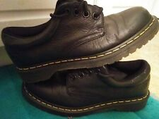 """Mens Dr. Martens """"Boston"""" Oxford Air Sole Work Or Casual Leather Shoes Size 9"""