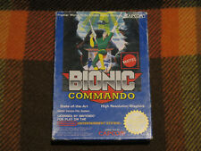 Bionic Commando, Nintendo NES, Only Box 100% Original, Mattel Version PAL A