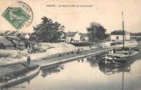 DIGOIN - Le canal et port de la Faïencerie