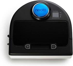Neato Robotics - Botvac D80 Bagless Self-Charging Robot Vacuum Ebony Color