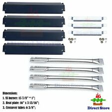 Charbroil Replacement Gas Grill Kit DG101 Burners Heat, Plates & Crossover Tubes