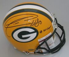 Packers DONALD DRIVER Signed Full Size Authentic Helmet AUTO w/ SB XLV Chp - JSA
