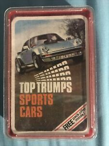 Sports Cars Top Trumps Dubreq Series 3/4 Battle Game Larger Cards Version