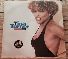 TINA TURNER SIMPLY THE BEST 2LP RARE ORIGINAL GREEK PRESS 1991 EX POP ROCK