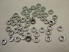 Stainless steel thin nuts half nuts lock nut M5 metric coarse, quantity of 50