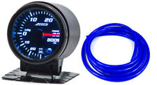 "52mm 2"" Boost Gauge PSI Digital Sensor /Analogue Display & Blue Hose"