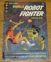 1967 KK Publications Gold Key Comic Book - Magnus Robot Fighter 4000 AD - No. 19