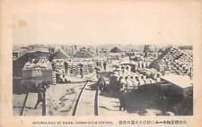 CHANGCHUN, JILIN PROVINCE, CHINA, SOJA - SOYBEAN STORAGE AREA, c 1904-14
