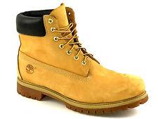 Timberland Men's Nubuck  6 Inch Preminum Waterproof Boots Wheat Size 13 USA.