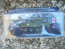 "DIE CAST TANK "" M1128 STRYKER MGS 2nd INFANTRY USA - 2006 "" SCALA 1/72"