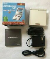 GameBoy Advance SP Console Famicom Color Nintendo GBA Limited Tested Japan
