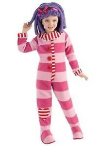 Girls Child LaLaLoopsy Deluxe Pillow Feather Bed Pink & Purple Dress Costume