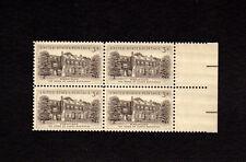 SCOTT # 1081 Wheatland Issue United States U.S. Stamps MNH - Margin Block of 4