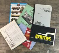 Assortment Of Vintage Model Railway Catalogues, Guides & Instructions.