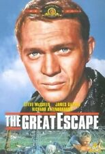 THE GREAT ESCAPE STEVE McQUEEN RICHARD ATTENBOROUGH MGM REGION 2 DVD NEW SEALED