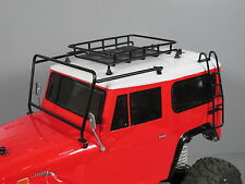 Metal Windshield Protector Roof Rack Stair Tamiya RC 1/10 Toyota Land Cruiser 40